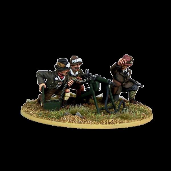 Freikorps Werdenfels HGM Team for interwar German Revolution 1918-1919 front painted view.