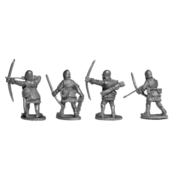 14th Century English Archers 2 Pack back view.