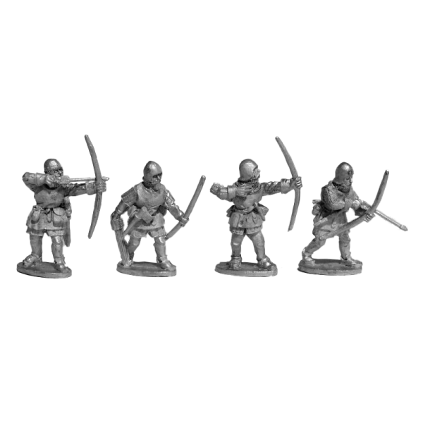 14th Century English Archers 2 Pack front view.