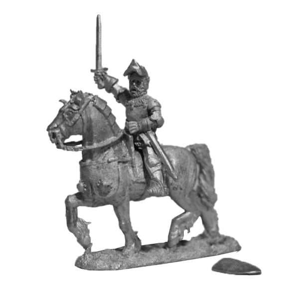 14th Mounted Officer pack side view.