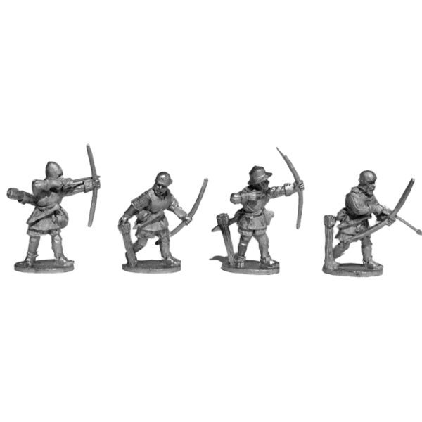 14th Century English Archers 1 Pack front view.