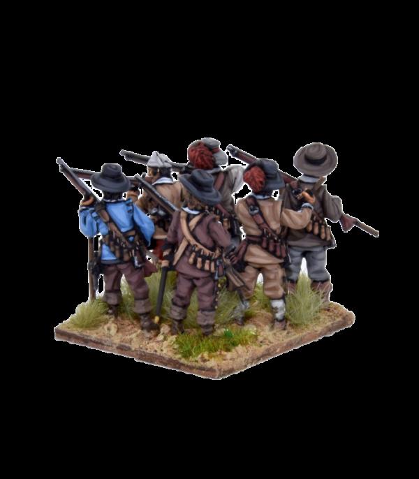 Spanish Tercios Musketeers Firing 1 view C.