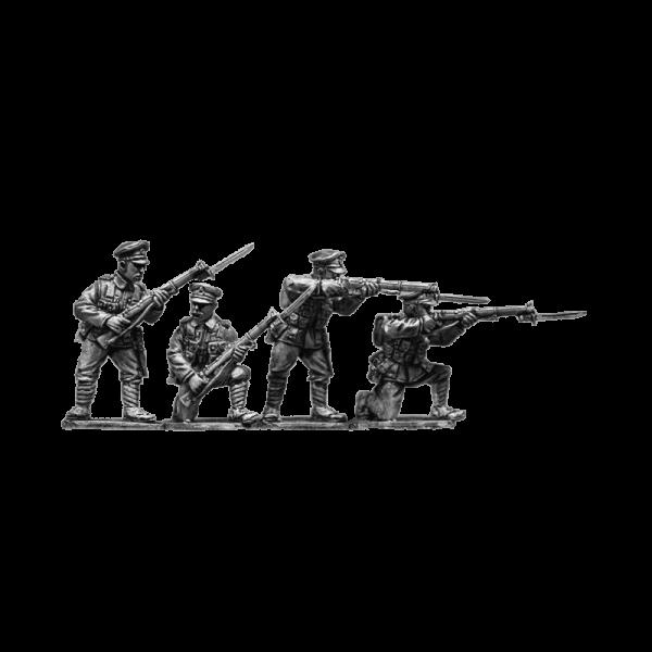 British Infantry Firing 3