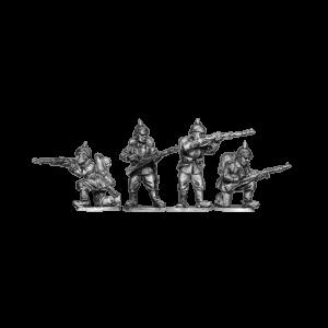 German Infantry Firing 1