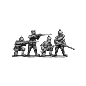 German Infantry Firing 3